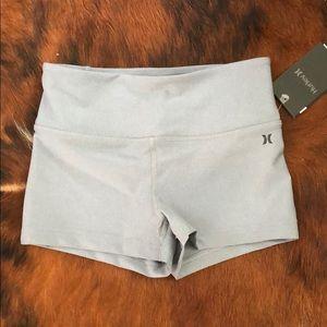 NEW! Hurley's Women's Quick Dry Shorts - Grey - XS